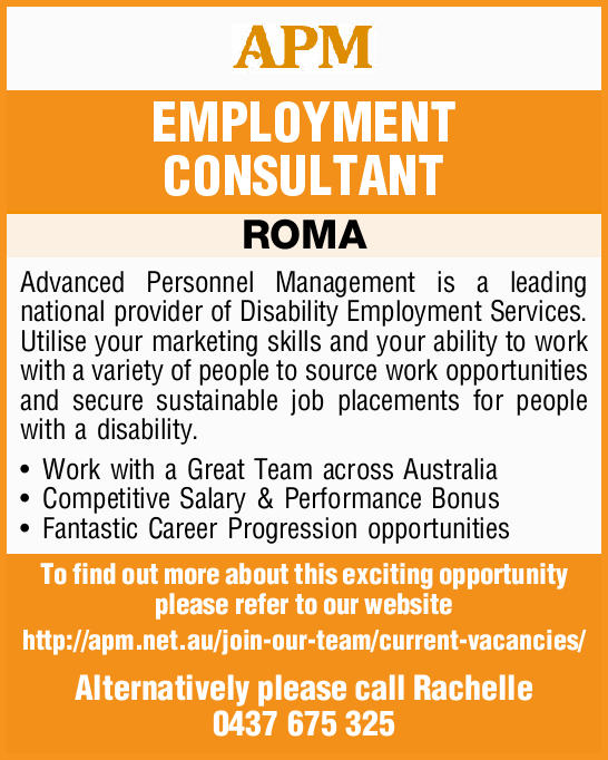 EMPLOYMENT CONSULTANT ROMA