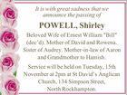 POWELL, Shirley
