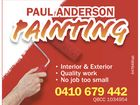 PAUL ANDERSON PAINTING