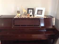 Kirwan upright piano, good condition. Pickup only