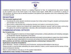 Lindisfarne Anglican School
