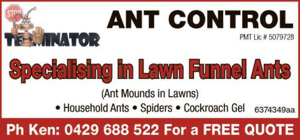 TERMINATOR ANT CONTROL 