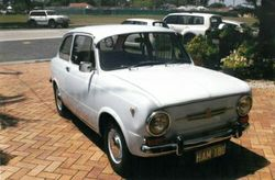 FIAT 850 Sedan -   1965, last registered in August 2014 (HAM-180), used as town car to work a...