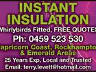 Instant Insulation