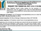 Provision of Maintenance Crew for Road Maintenance