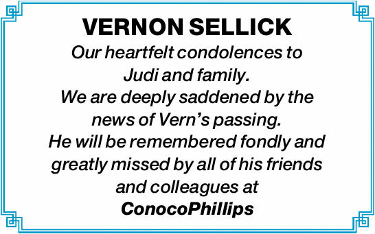 VERNON SELLICK 