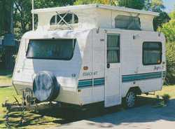 JAYCO Starcraft Pop Top,    front dinette  cent. kitch.  Gas/Elect.  stove,...