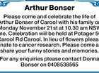 Arthur Bonser