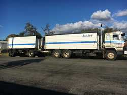 NISSAN UD 1985-86, CWA45, 1,060,000k, 80% rubber, pay load, T24, reg paid truck till 8th Month, d...