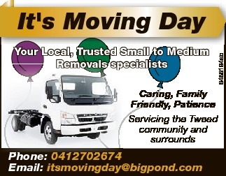 Your Local, Trusted Small to Medium Removals specialists 6486194ab It's Moving Day Caring, Fa...