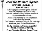 Jakcson William Byrnes