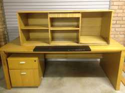 FREE draws and side cupboard included