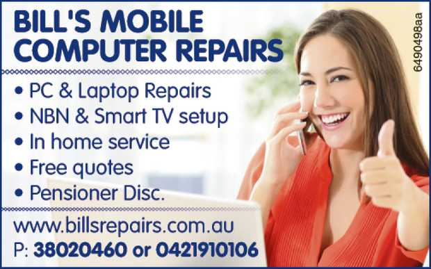 PC & Laptop Repairs