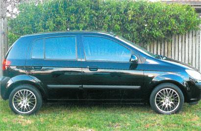 HYUNDAI GETZ 2008,  auto,  hatch,  air cond,  p/steer,  elec windows...