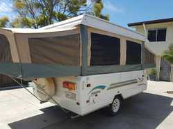 2002 Jayco Hawk caravan, sleeps 5, QS bed one end and double bed the other, gas cert & r...