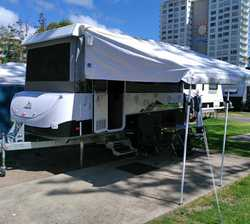2014 Jayco Outback Penguin.    TV  Aerial  Solar  Battery  Bag Awning...