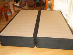 1900x910x390 high,makes King size bed, ideal for latex mattress,all qual.timber/slats local, solid m...