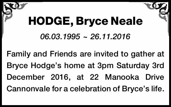 06.03.1995 ~ 26.11.2016