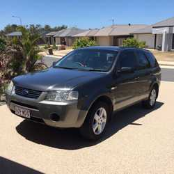 Ford Territory big on space and comfort. Good condition and serviced regularly.