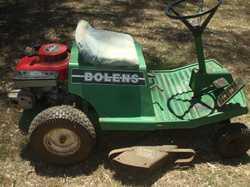 """Bolens  30"""" cut , 11hp Honda motor. Done heaps but still going."""
