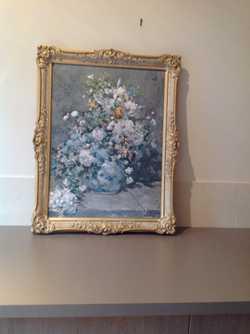 Floral argmt perfect condit $55