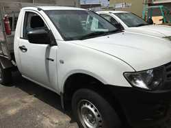 Mitsubishi Triton 2012   55,000kms. Used, Excellent condition.   Manual UTE. Petrol, ladd...