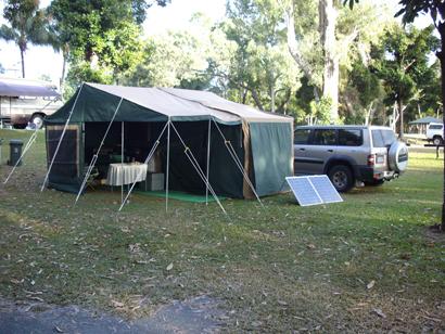OVERLANDER DELUXE OFF ROAD CAMPER Full annexe, sleeps 6, 12 mnths rego, queen bed, solar panels,...