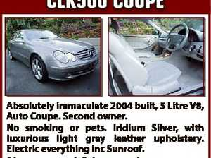 Mercedes Benz cLK500 cOUPe First to inspect at $22,500 will buy. Owner upgraded to another MB. Phone M 0418 798 702 6496583aa Absolutely immaculate 2004 built, 5 Litre V8, Auto Coupe. Second owner. No smoking or pets. Iridium Silver, with luxurious light grey leather upholstery. Electric everything inc Sunroof ...