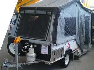Camper trailer, CUB Weekender