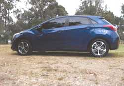 2015 Hyundai i30 Active X,  leather appointed,  alloy wheels,  auto,  blu...