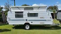 1996 Jayco offroad, island bed, exc cond