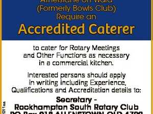 Accredited Caterer