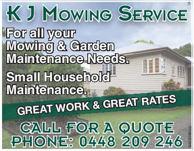 K J Mowing Service