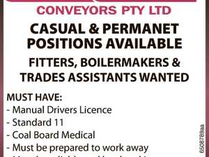 FITTERS WANTED