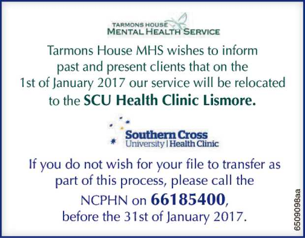 Tarmons House Mental Health Service (MHS)