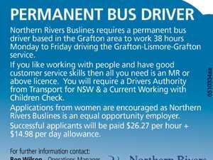 PERMANENT BUS DRIVER