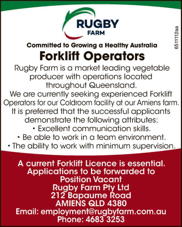 Rugby Farm: Committed to Growing a Healthy Australia 