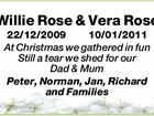 Willie & Vera Rose