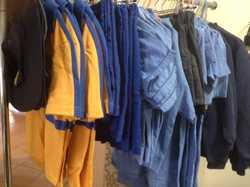 Emmanuel girls formal and sports uniforms from sz 4-12, unisex school zip front jacket sz 6-14, scho...