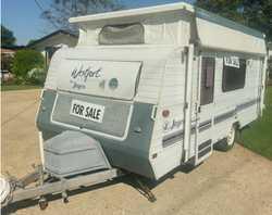 JAYCO WESTPORT Pop Top   16ft.   single beds,   plenty of storage,   3 way fridge...