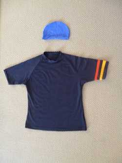 """Short sleeve Sunshirt fit 34-38"""" chest"""
