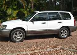 2004 XS Subaru Forester MY04, manual, reg'd 07/17, RWC, very good cond, 199,000klms, one ow...