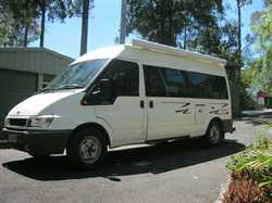 FORD Transit Van 2004, auto diesel, good cond, queen bed, 205,000ks, long wheel base, mid height,...
