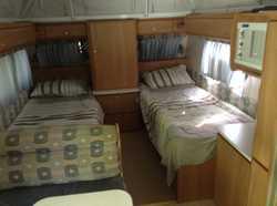 2007 Jayco Destiny Outback inc shr/tlt dual Batt/wtr/gas lge fridge sngl beds air con