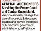 GENERAL AUCTIONEERS