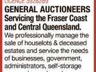 GENERAL AUCTIONEERS