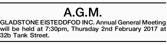 A.G.M. 
