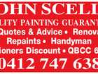 JOHN SCELLS QUALITY PAINTING GUARANTEED