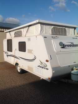 2005 Jayco 17ft Poptop Caravan - new tyres; double bed; air conditioned; plenty of storage; awning r...