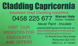 NEVER PAINT INSULATE Local Prices , Local Installer. *PRICE MATCH*  QBCC 1160367  0458 225 677